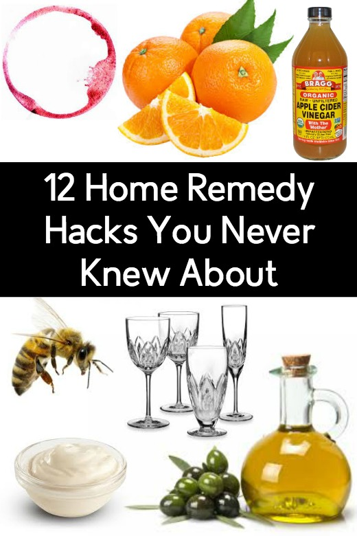 12 Home Remedy Hacks You Never Knew About ~