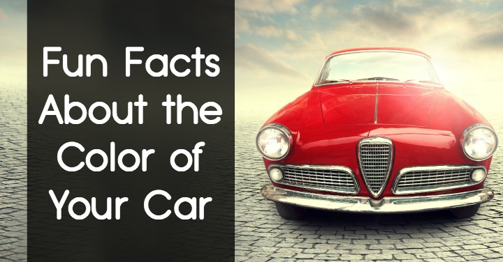 Fun Facts About The Color Of Your Car