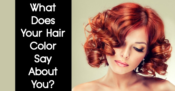 what does your hair color say about you. Black Bedroom Furniture Sets. Home Design Ideas