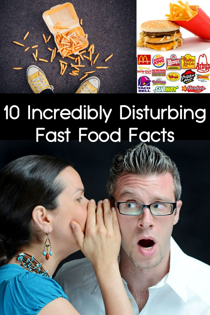 10 Incredibly Disturbing Fast Food Facts ~