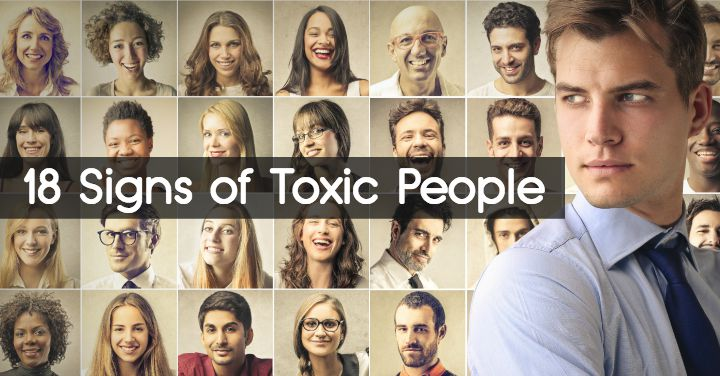 18 Signs Of Toxic People