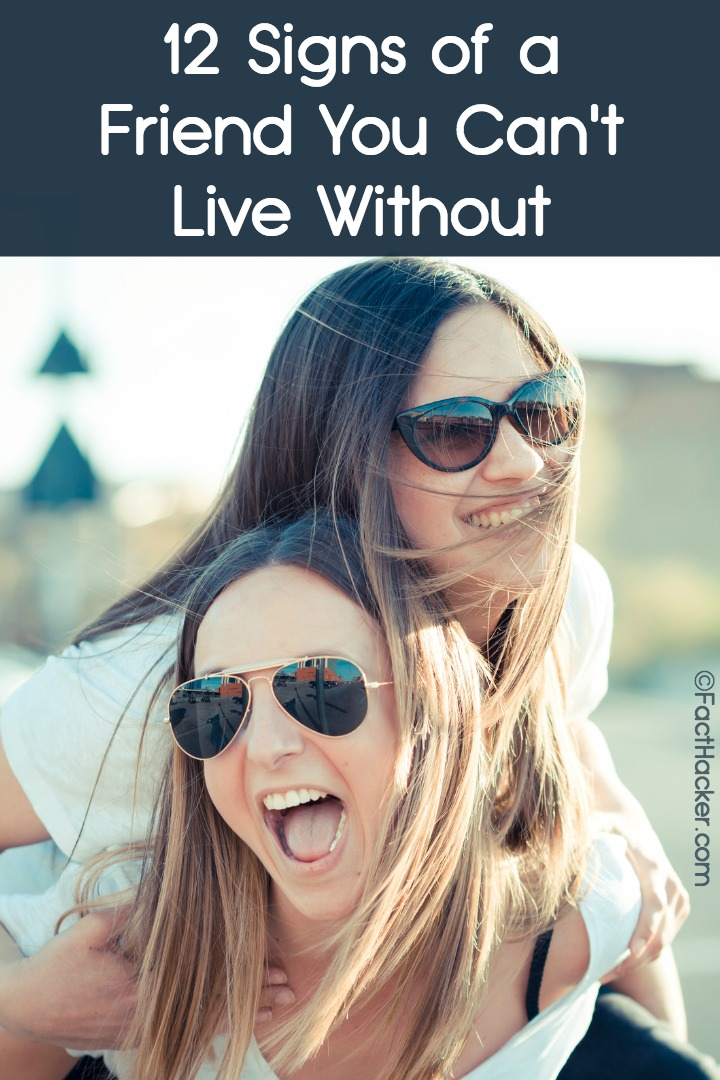 12 Signs of a Friend You Can't Live Without ~ https://facthacker.com/signs-of-a-friend/
